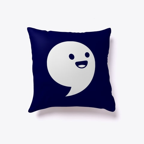Commaful Pillow