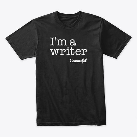 I'm A Writer Dark T-Shirt