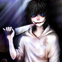 A bloody lover (part 1?) jeff the killer stories