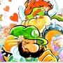 A Helping Hand                        Luigi x Bowser Part 1 <3 luigixbowser stories