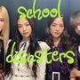 School disasters (part 1)      Lisa's  new world blackpink stories