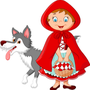 "I improved ""Little Red Riding Hood""!! once upon a time stories"