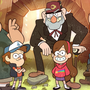"""If I met the Pines  S1 Ep2  """"Legend of Gobblewonker""""  chapter 1 of book 2 gravity falls stories"""