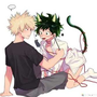 Your Mine~                                    Katsuki x Neko Izuku cute stories