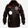 Classic Men B3 Leather Shearling Dark Brown Jacket has the following Features stories