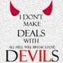 I Don't Make Deals with Devils (Ch.1) urbanfantasy stories