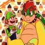 A Helping Hand                        Luigi x Bowser Part 2 <3 luigixbowser stories