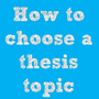 Select Thesis Topics stories