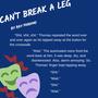 Can't Break a Leg flash fiction stories