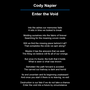Enter the Void poem stories