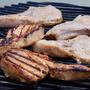 Grilled BBQ Pork Roast  meat stories