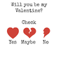 Will you be my valentine? stories