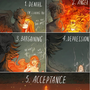 A Scatterbrain's Guide To The Five Stages of Grief     five stages of grief stories