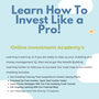 Learn How To Invest Like a Pro online investment courses for beginners stories