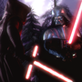 Darth Vader vs. Kylo Ren lightsaber stories