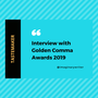 Interview with Golden Comma Awards 2019 interview with bashayar stories
