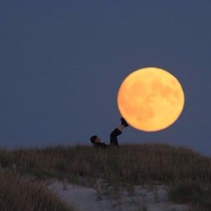 The Moon sad poetry stories