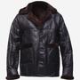 New Men B3 Soft Fur Lining Black Shearling Jacket b3 soft fur lining black jacket stories
