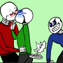 Science Love  ❦ ♥Science x Fell ❦ ♥ 3 undertail stories
