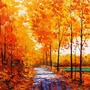 A Leafy Stroll                                    (Autumn #3) medicine stories