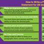 How to Write a Personal Statement for UK Universities? study in uk stories