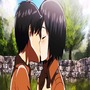 First kiss attack on titan stories
